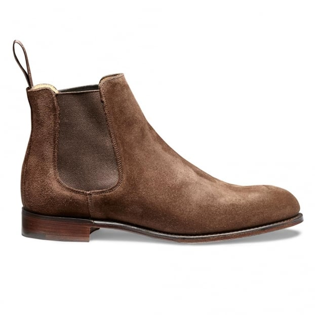 Cheaney Clara Chelsea Boot in Plough Suede