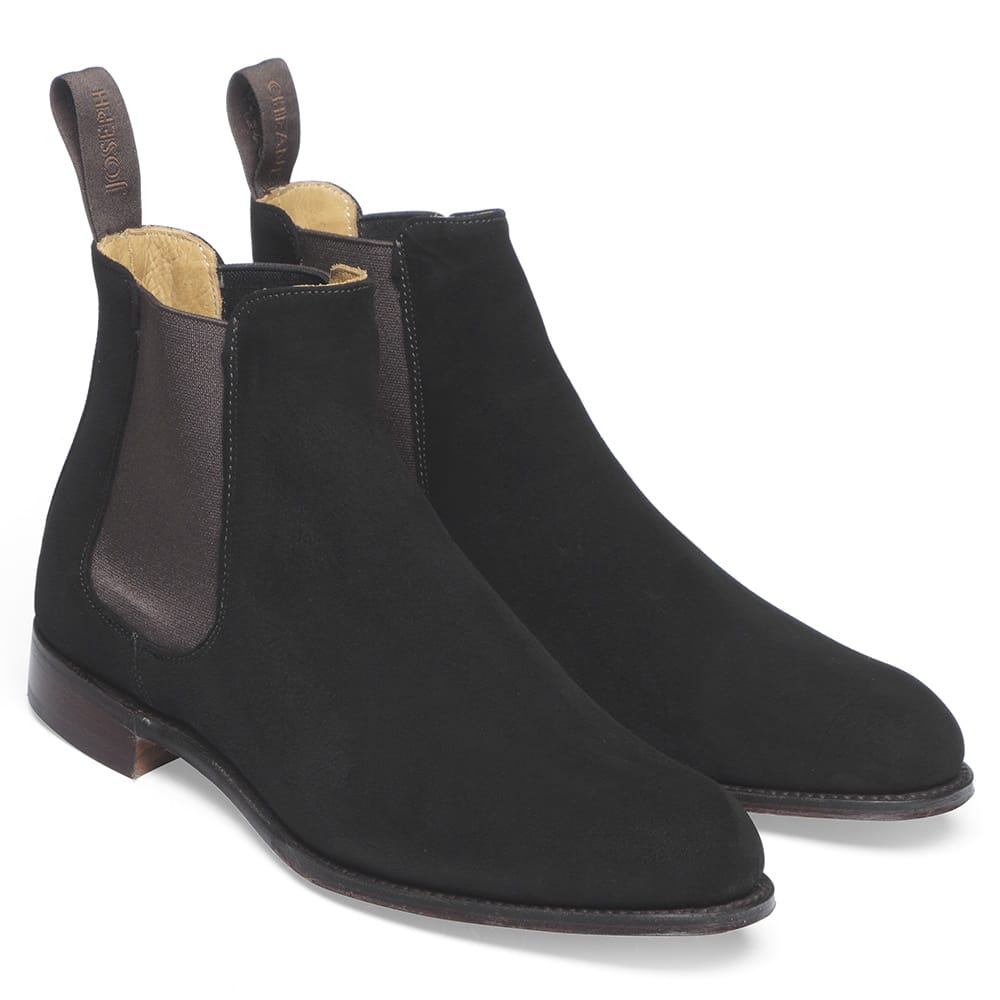 cheaney clara brown suede chelsea boot made in