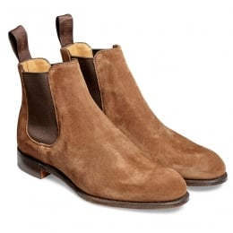 Clara Ladies Chelsea Boot in Fox Suede