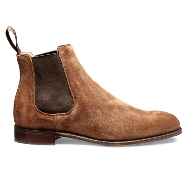 Cheaney Clara Ladies Chelsea Boot in Fox Suede