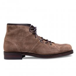 Cole R Monkey Boot in Tundra Waxy Suede