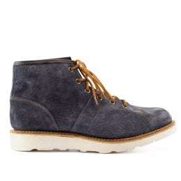 Collette MV Monkey Boot in Blue Waxy Suede