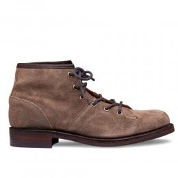 Collette R Monkey Boot in Tundra Waxy Suede