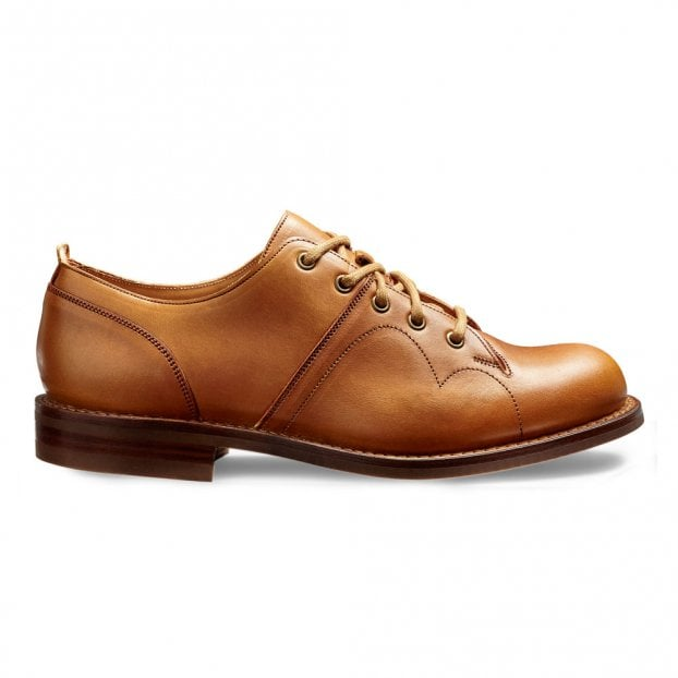 Cheaney Cooper R Monkey Shoe in Beechnut Calf Leather