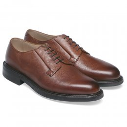 Deal Derby in Mahogany Grain Leather