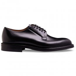 Deal II R Derby in Black Calf Leather