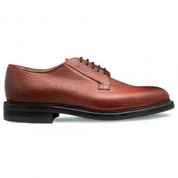 Deal II R Derby in Mahogany Grain Leather