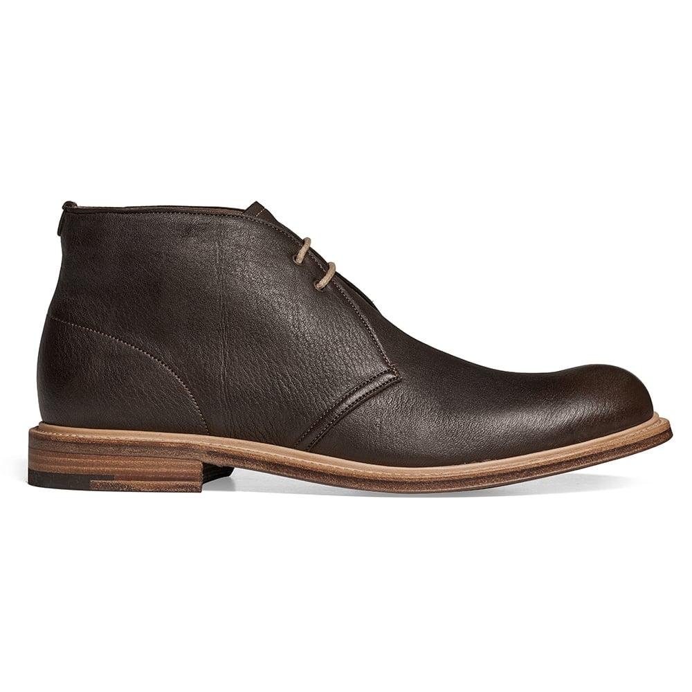 Cheaney Dexter Ii Mens Brown Deerskin Chukka Boot Made