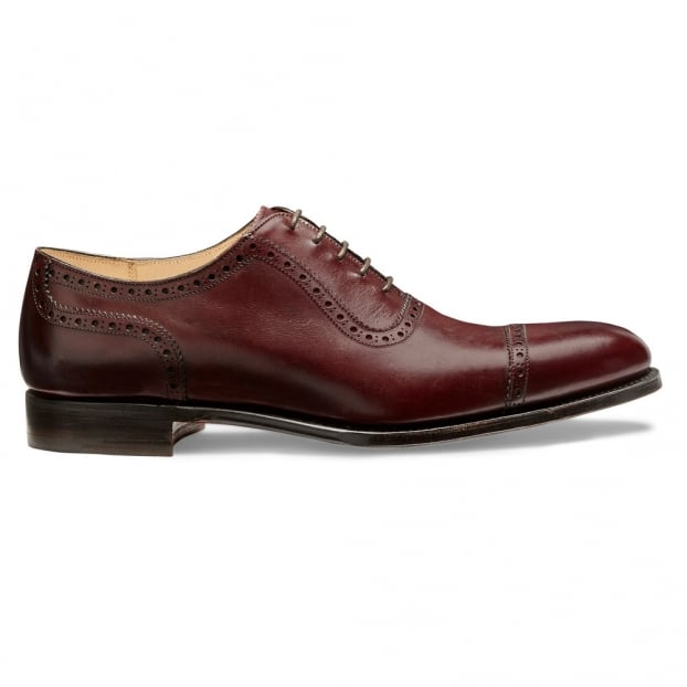 Cheaney Fenchurch Oxford in Burgundy Calf Leather
