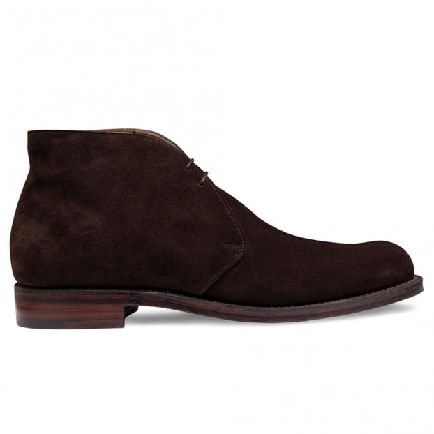 Cheaney Garforth EF Chukka Boot in Bitter Chocolate Calf Suede
