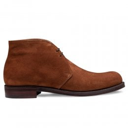 Garforth EF Chukka Boot in Rustic Brown Calf Suede