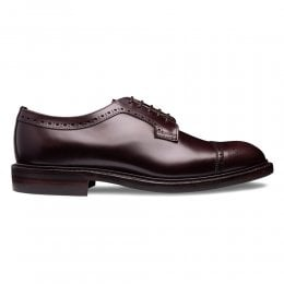 George IV R Capped Derby in Burgundy Coaching Calf