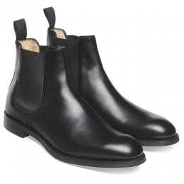 Godfrey D Chelsea Boot in Black Calf Leather