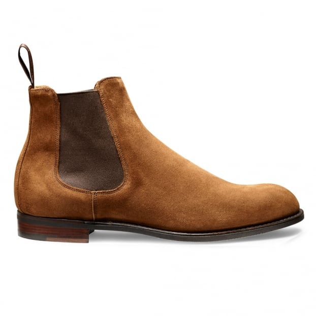 Cheaney Godfrey D Chelsea Boot in Fox Suede