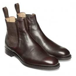 Godfrey D Chelsea Boot in Mocha Calf Leather