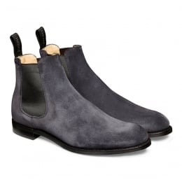 Godfrey D Chelsea Boot in Oceano Suede