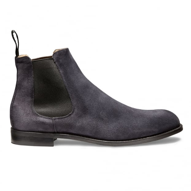 Cheaney Godfrey D Chelsea Boot in Oceano Suede