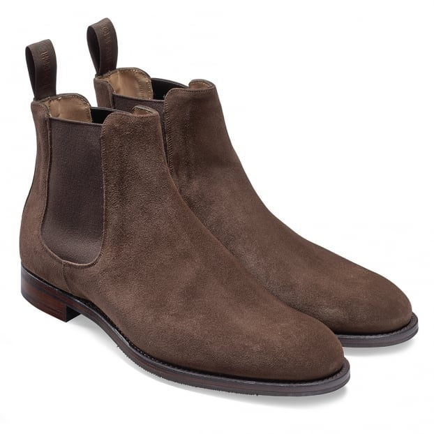 Cheaney Godfrey D Chelsea Boot in Plough Suede