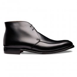 Guilsborough Chukka Boot in Black Calf Leather