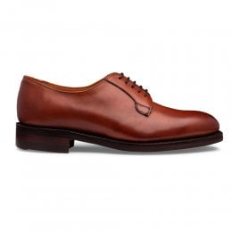 Haverhill R Derby Shoe in Dark Leaf Calf Leather