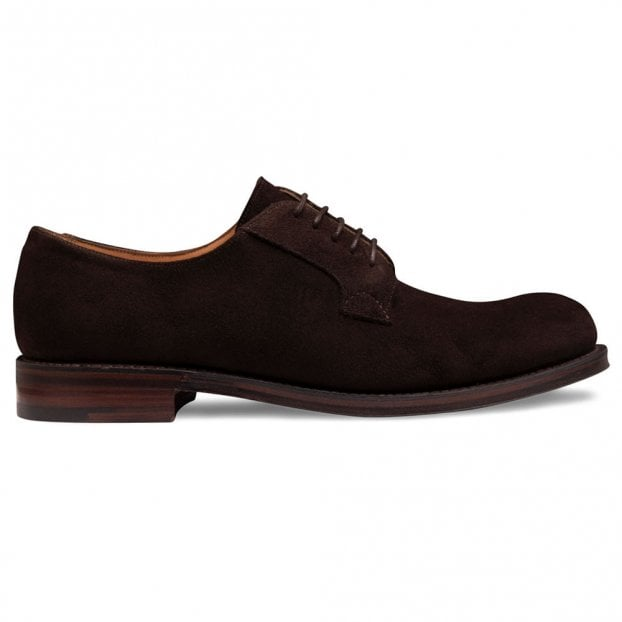 Cheaney Horsforth EF Derby in Bitter Chocolate Calf Suede