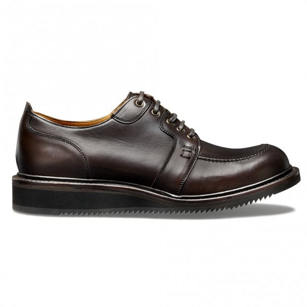 Cheaney Horton Apron Shoe in Chicago Tan Chromexcel Leather