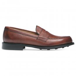 Howard R Loafer in Mahogany Grain Leather