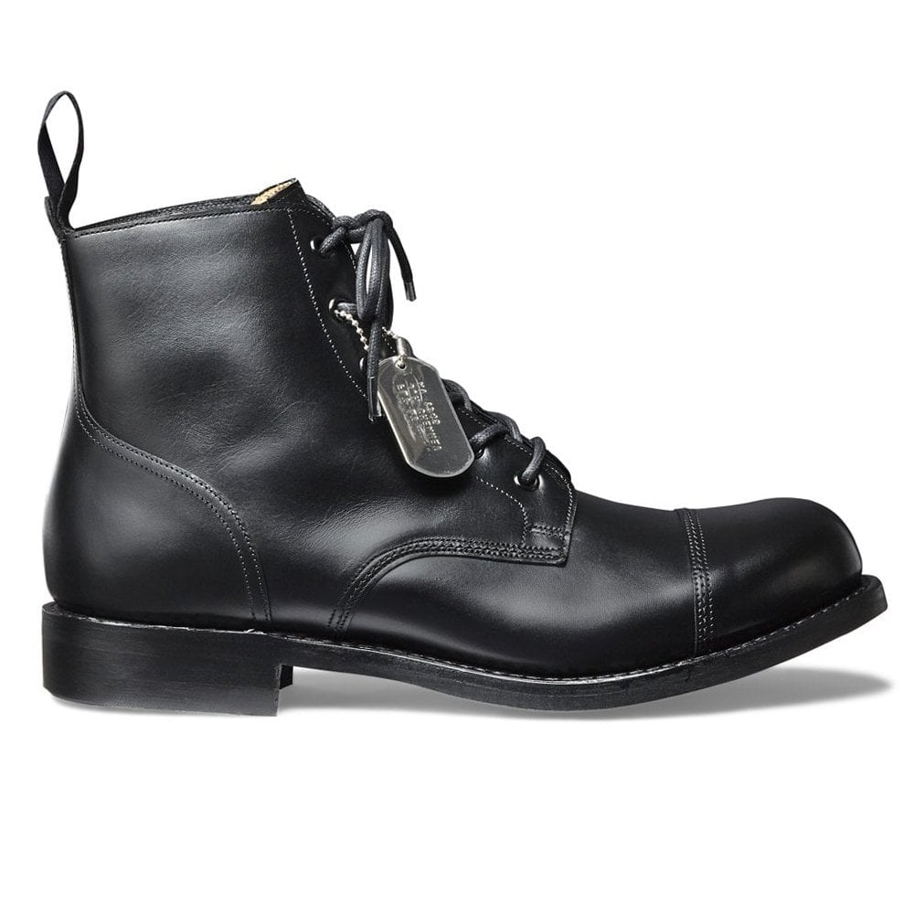 black work ankle boots