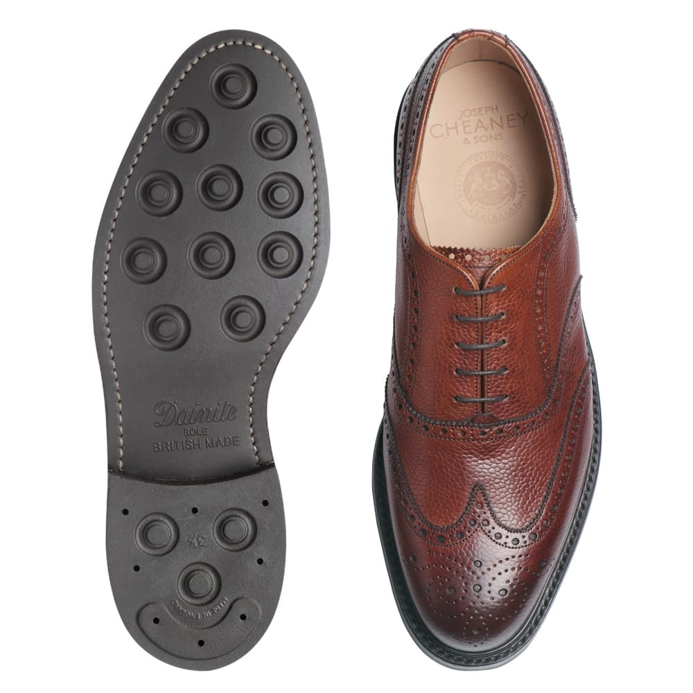 release date superior quality presenting Cheaney Hythe | Men's Brown Leather Oxford Brogue | Made in England