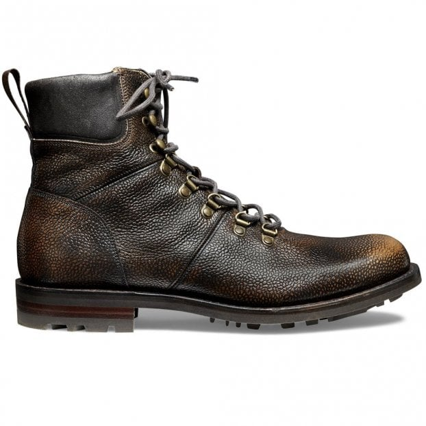 Cheaney Ingleborough B Hiker Boot in Bronze Rub Off Grain Leather