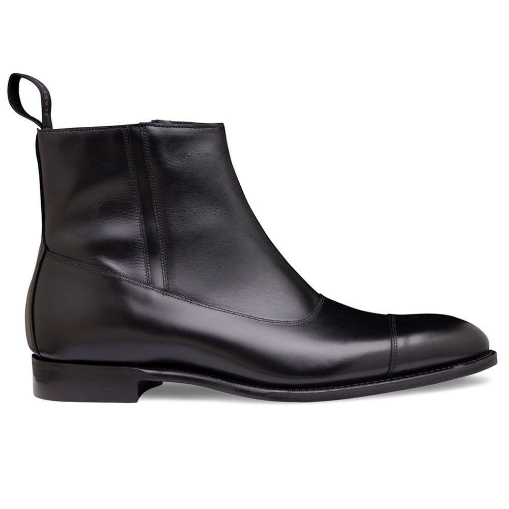 Cheaney Isleworth | Mens Black Leather
