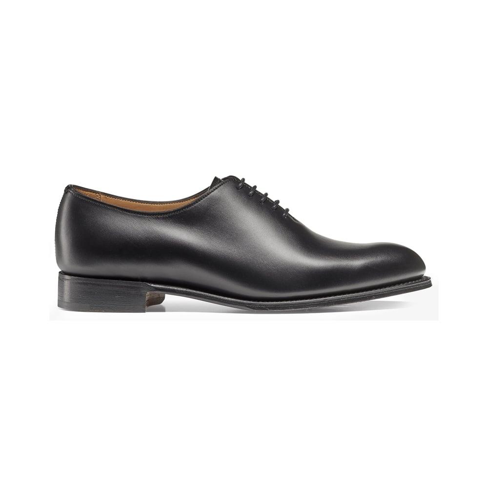 2de86be0ced9 Isobella Wholecut Oxford in Black Calf Leather