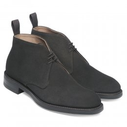 Jackie III R Chukka Boot in Brown Suede | F Fitting