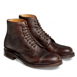 Jarrow R Country Derby Boot in Chicago Tan Chromexcel Leather