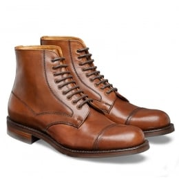 Jarrow R Country Derby Boot in English Tan Chromexcel Leather