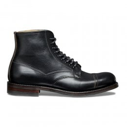 Jarrow R Derby Boot in Black Chromexcel Leather