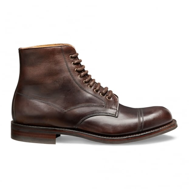 Cheaney Jarrow R Derby Boot in Chicago Tan Chromexcel Leather