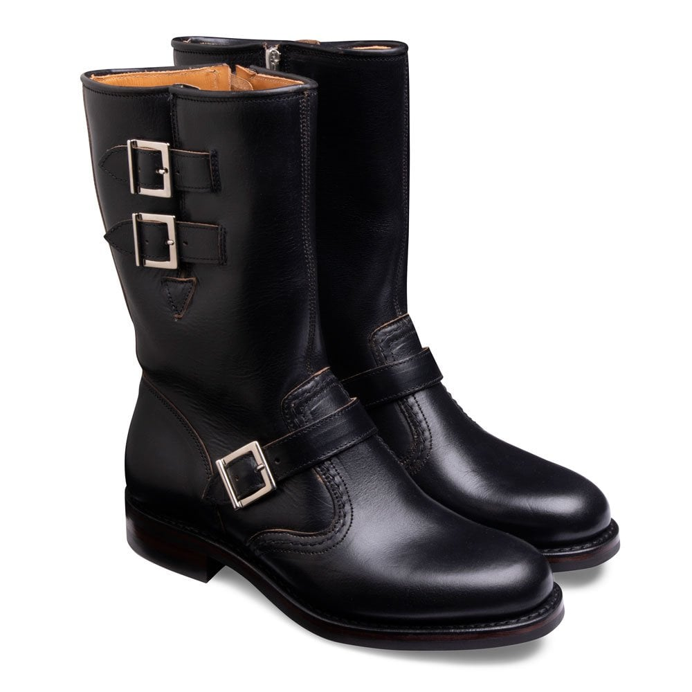 Black Chromexcel Rigger Boot