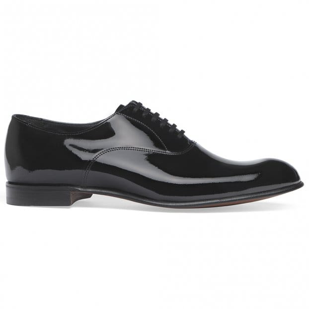 Cheaney Kelly Black Patent Leather Oxford Dress Shoe