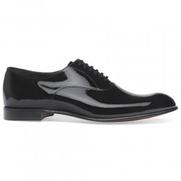 Kelly Black Patent Leather Oxford Dress Shoe