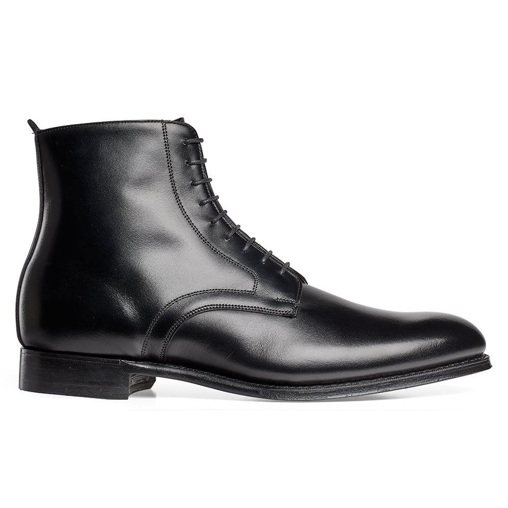1244dc8b79ae King Derby Boot in Black Calf Leather