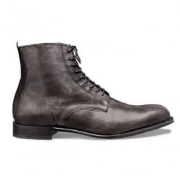 King Derby Boot in Charcoal Grey Calf Leather