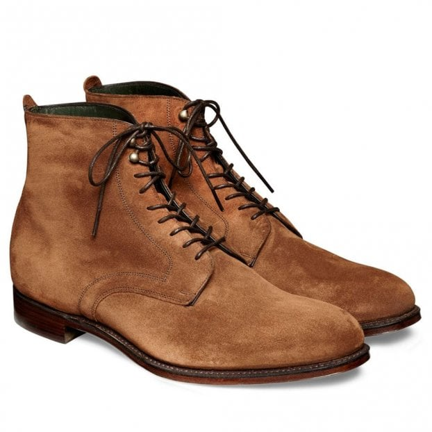 Cheaney King ll Derby Boot in Fox Suede