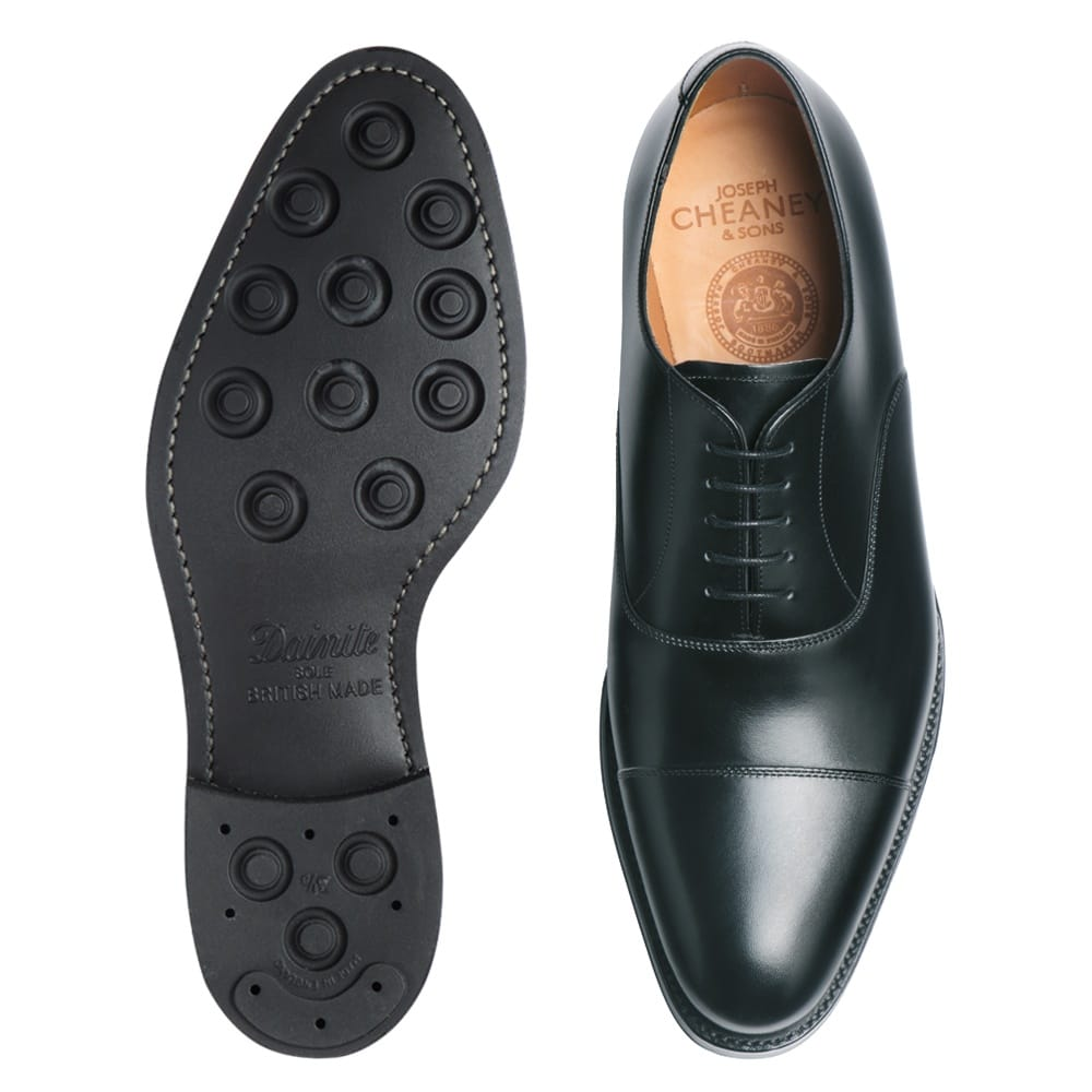 Cheaney Lime R | Men's Black Leather