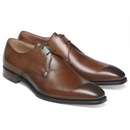 Liverpool Derby in Conker Calf Leather