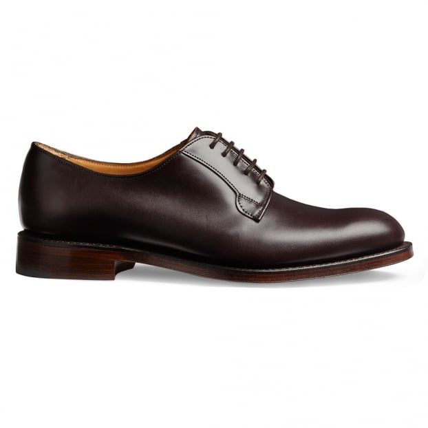 Cheaney Mabel Ladies Derby in Burgundy Coaching Calf Leather