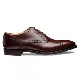 Maidstone D Oxford Brogue in Brown Calf Leather
