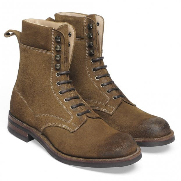 Cheaney Mallory Country Derby Boot in Maracca Suede