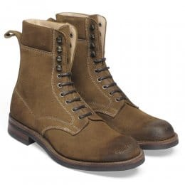 Mallory Country Derby Boot in Maracca Suede