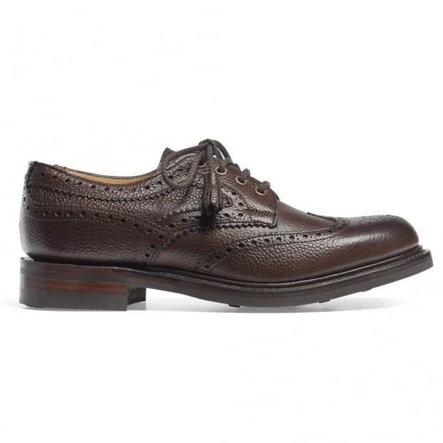 Cheaney Marianne Tassel Derby Brogue in Walnut Grain